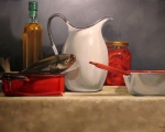 Fish with White Pitcher(sold)