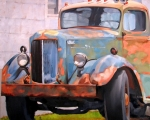 Liberty Street Truck 30x36 - Available