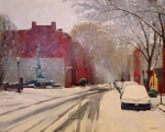 Union Street in Winter(sold)