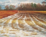 Winter Field - Assunpink 24x32