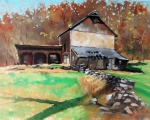 Federal Twist Road Barn  16x20