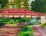 Phillips Mill Bridge 12x16
