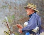 Peter Hunt - The plein Air Painter 18x24